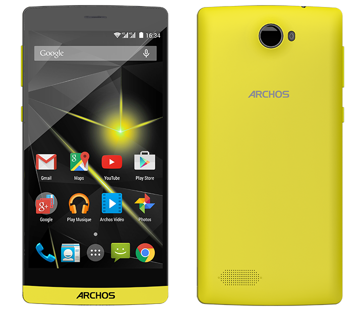 Eyes On Archos 50 Diamond - Octa Power
