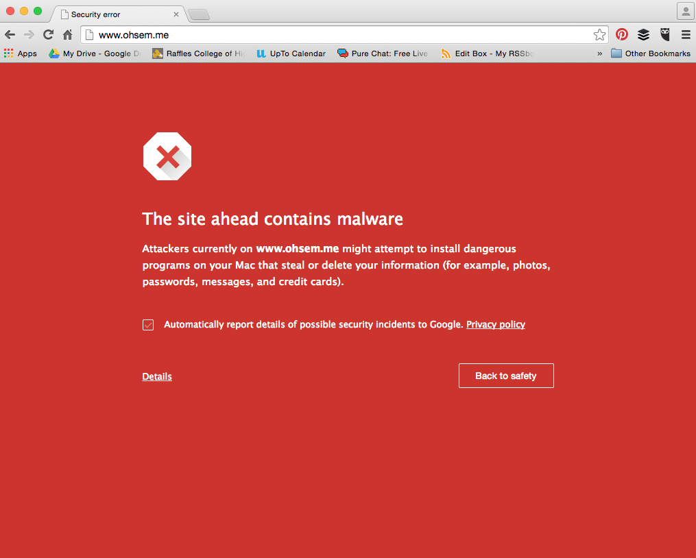 Malware Attack?