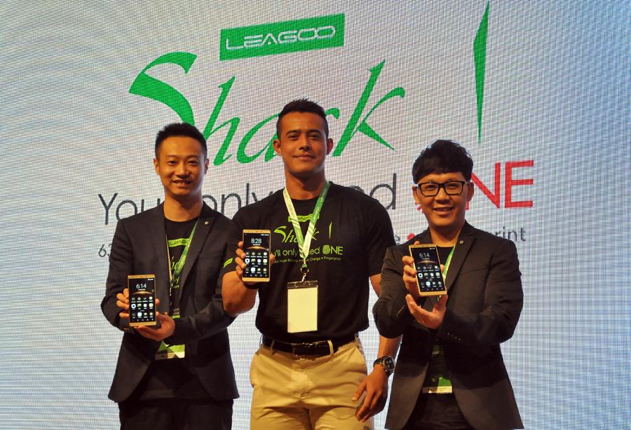 LEAGOO Media Launch - Shark 1