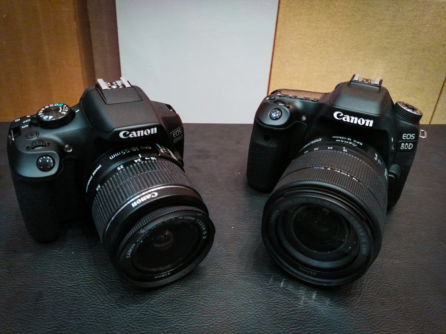 EOS 80D and 1300D