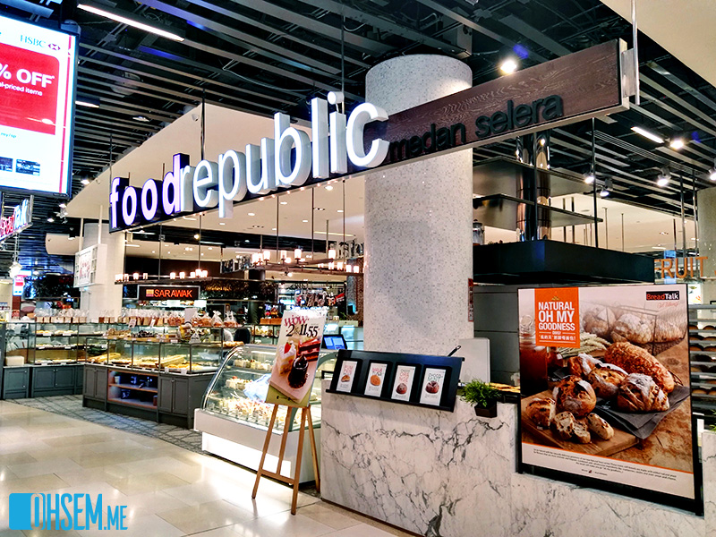 Food Republic - A Collection Of Local Dishes In One Place