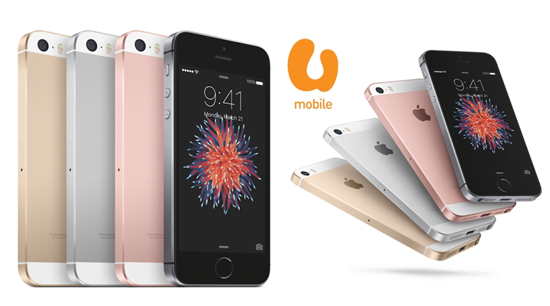 iPhone SE Available from U Mobile on Friday 13th