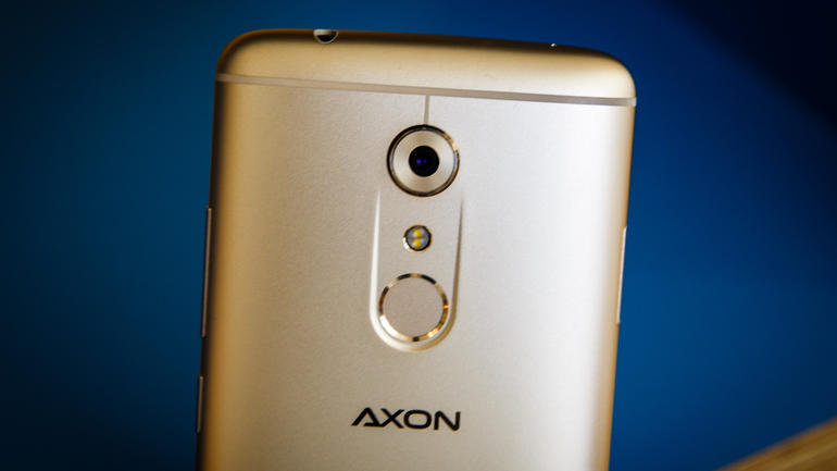 ZTE Axon 7 back. Photo from CNET.com.