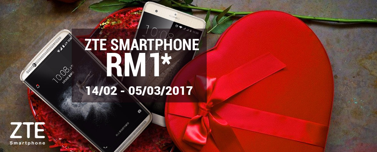 ZTE Bargain King is Back This Valentine's Day