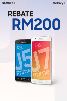 Get RM200 off when you purchase the Galaxy J Prime