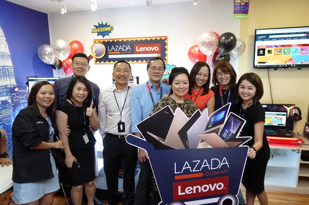 Lenovo Malaysia Launches Official Store on Lazada