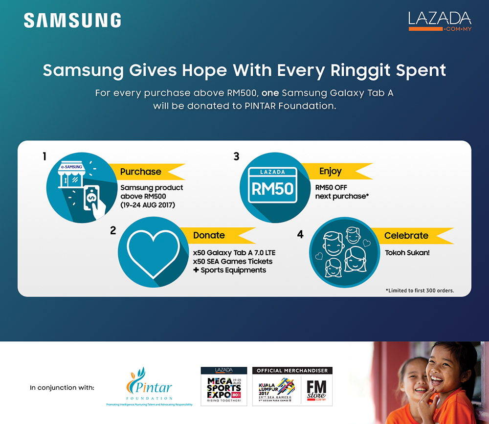 PR: Samsung Gives Hope with Every Ringgit Spent