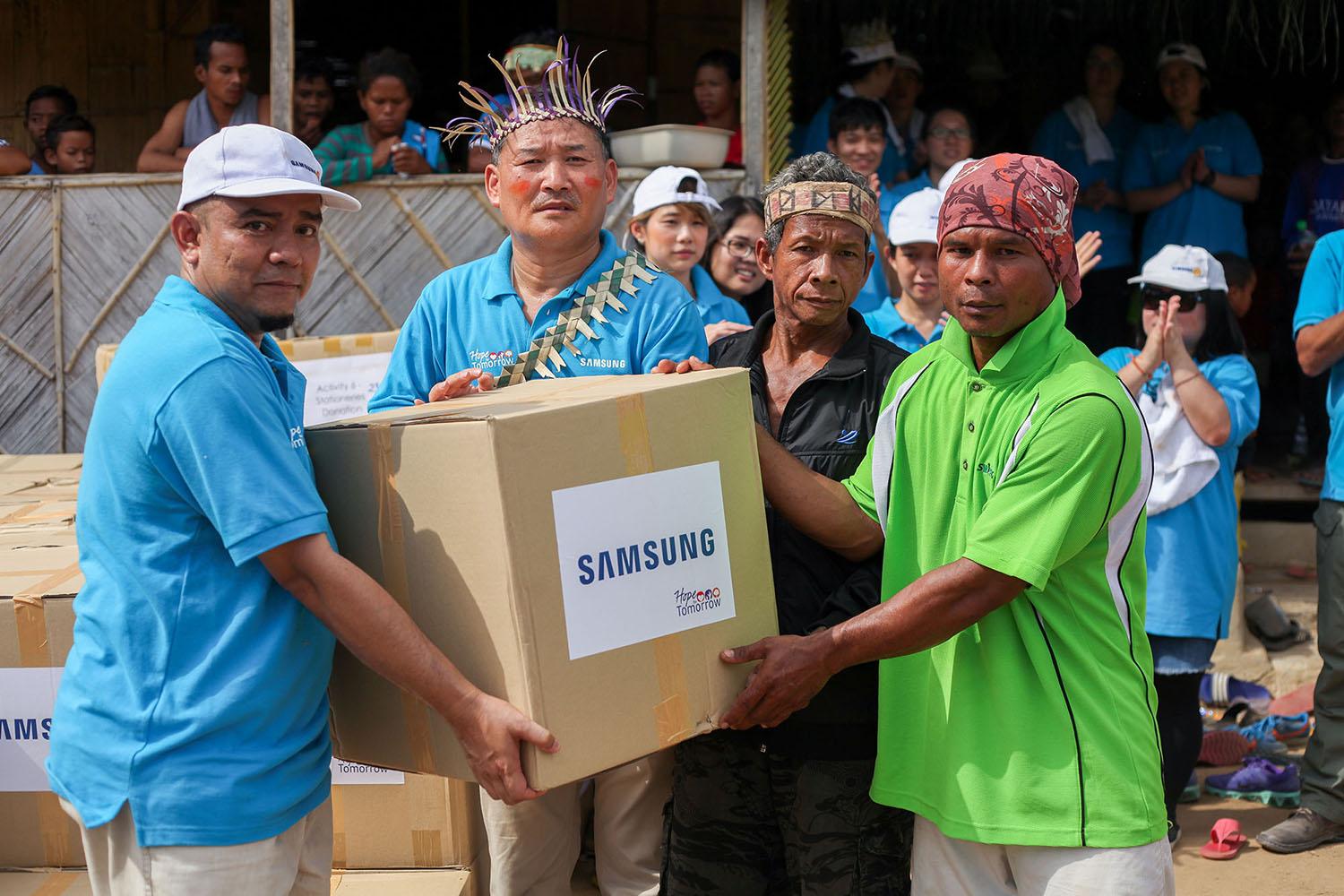 Giving Light and Love Through Samsung Love & Care