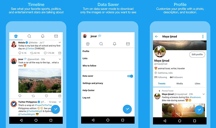 Twitter Lite Available in Google Play Store in 24 Countries