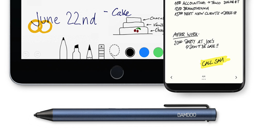 Improve Productivity on Mobile Devices With New Bamboo Tip