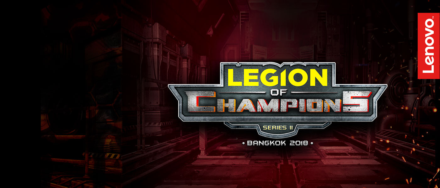Lenovo's Legion of Champions Series II Grand Finale Kicks Off