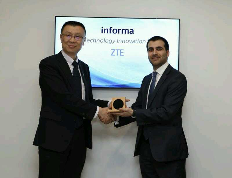 """ZTE Won """"Best Technology Innovation for 5G"""" Award at MWC 2018"""
