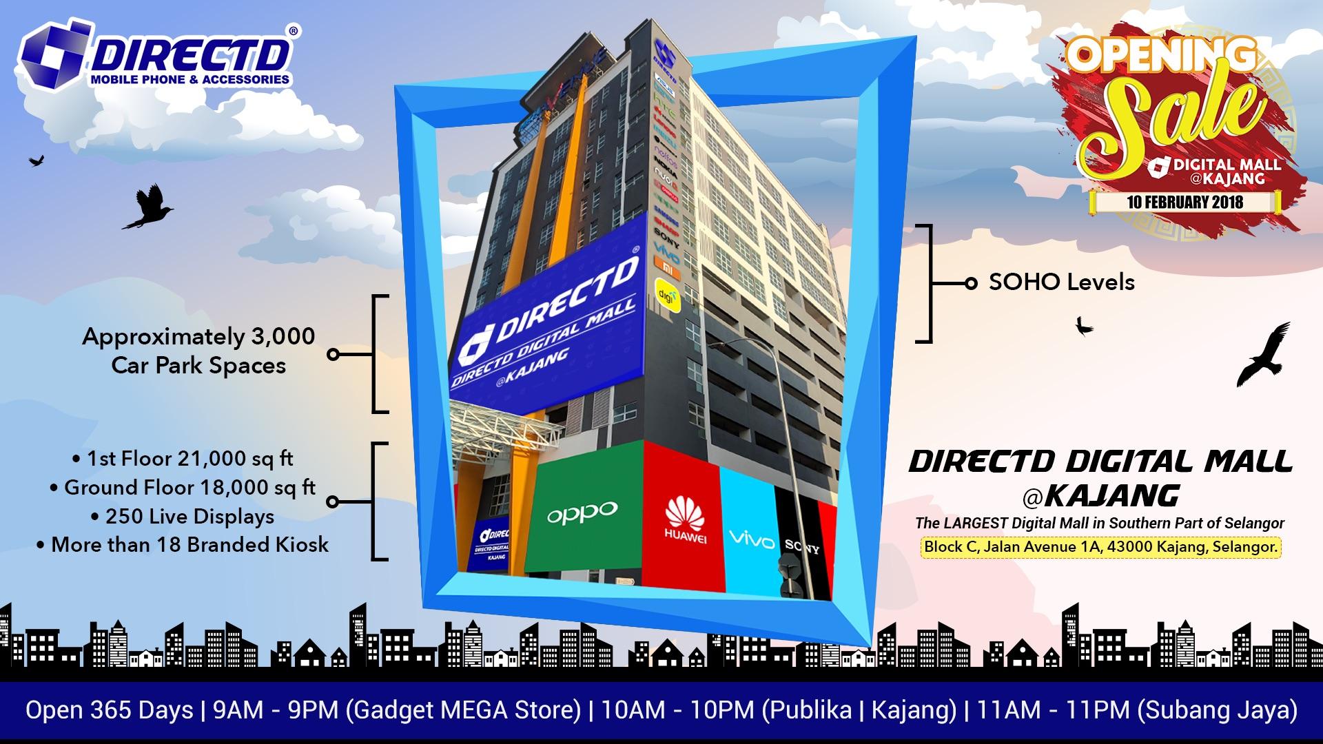 DirectD Opens Malaysia's Largest Digital Hub in Kajang