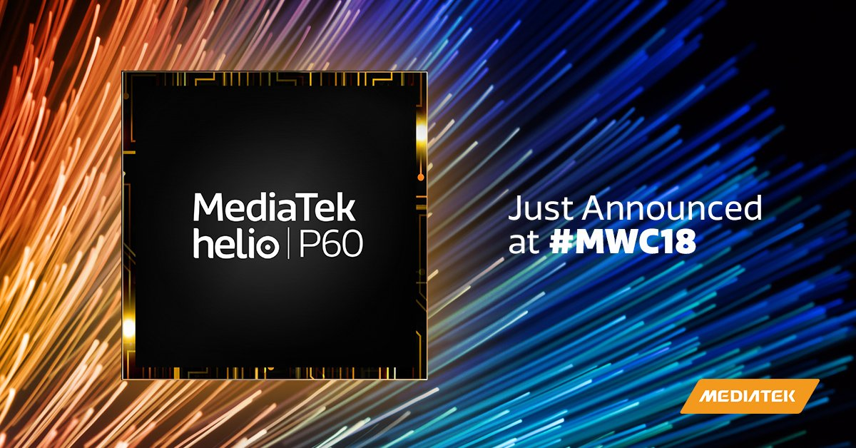 MediaTek's New Helio P60 Brings AI Experience to Mid-Range Devices