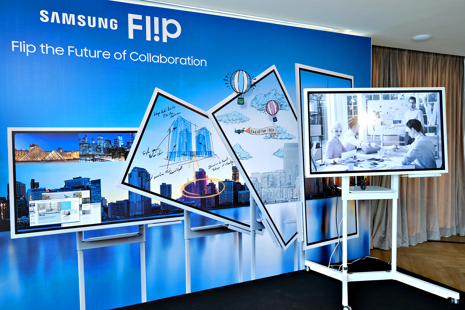 Samsung Flip: The Evolution of Workplace Collaboration