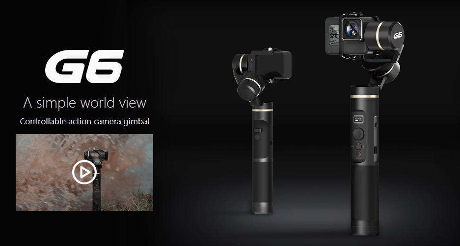 Feiyu Introduces the G6 Gimbal, Providing Perfect Vision in One Hand