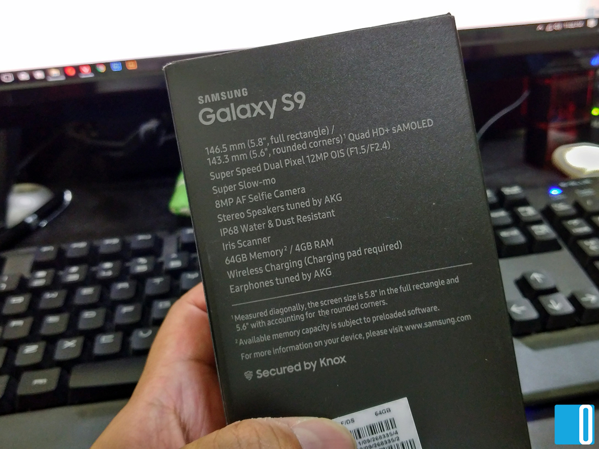 Samsung Galaxy S9 Review by Ohsem.me