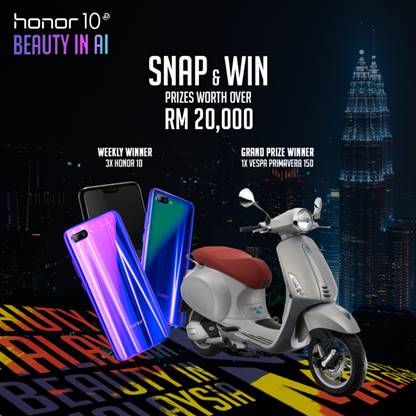 Honor 10 Beauty in Malaysia