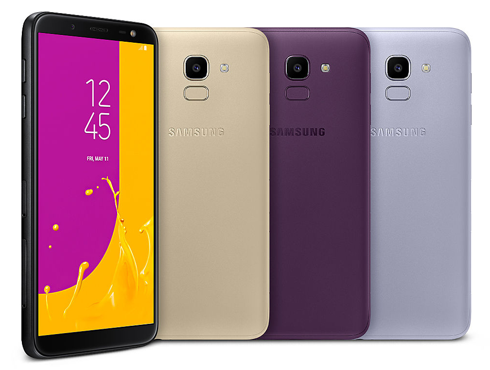 Samsung Galaxy J8 and J6