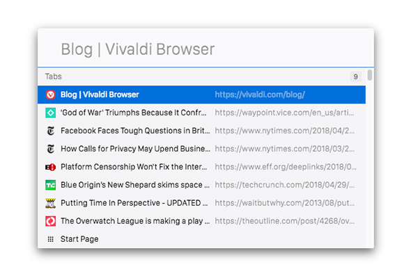 Vivaldi – An essential toolbox for every web surfer