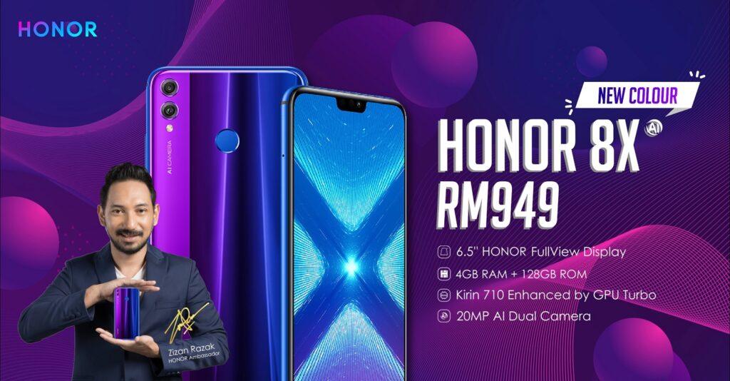 HONOR 8X Phantom Blue