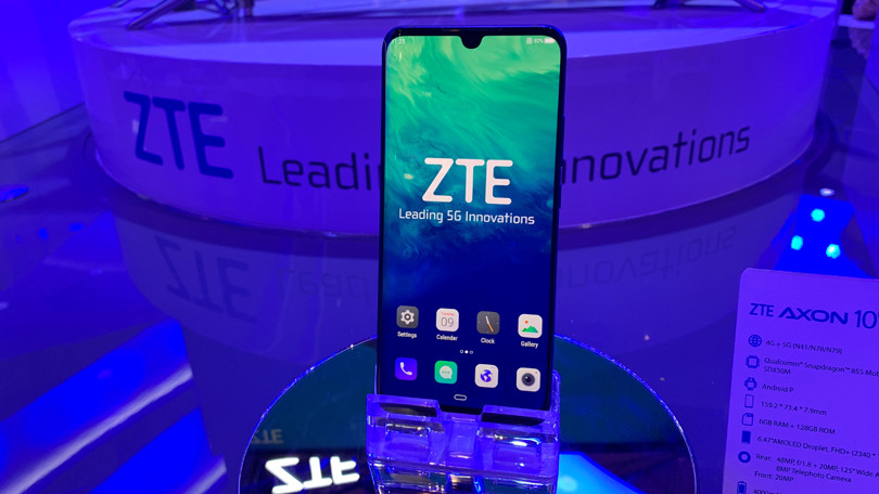 ZTE Announces the First 5G Flagship Smartphone