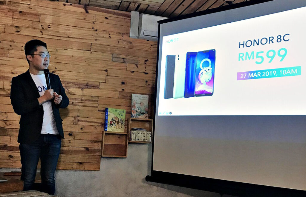 HONOR Malaysia Unveils HONOR 8C and its Mysterious Ambassador