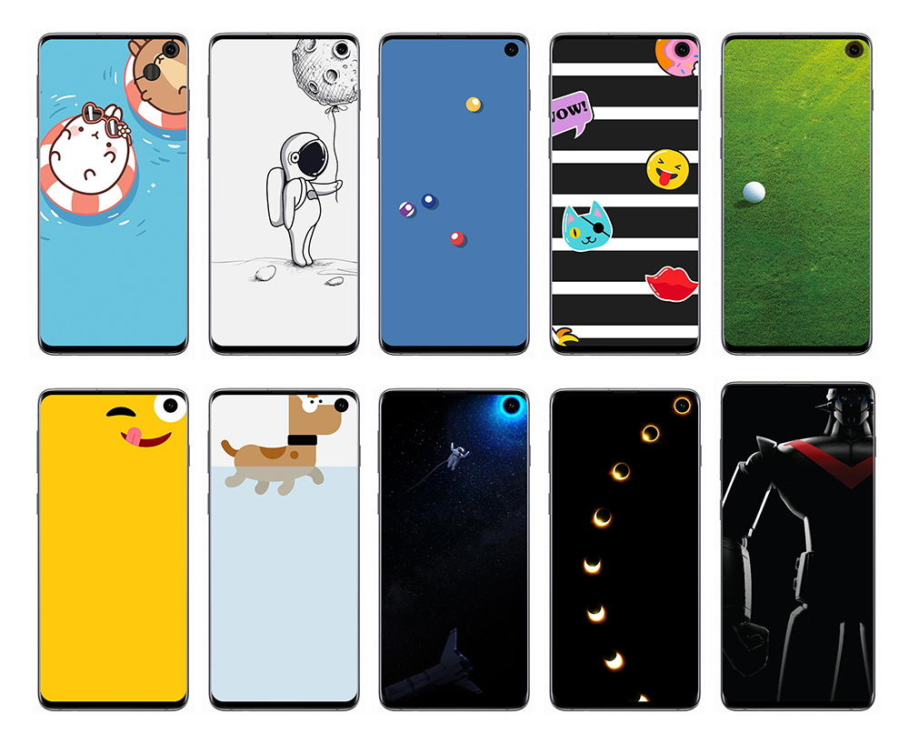 Samsung Infinity-O Display Wallpaper