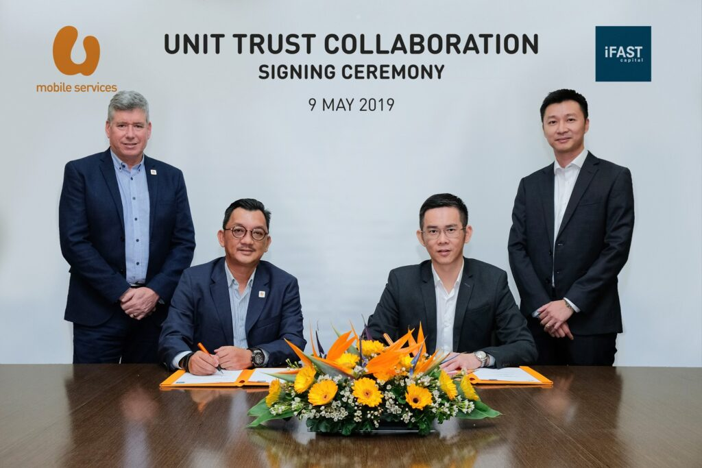 U Mobile Services signed agreement with iFAST Capital