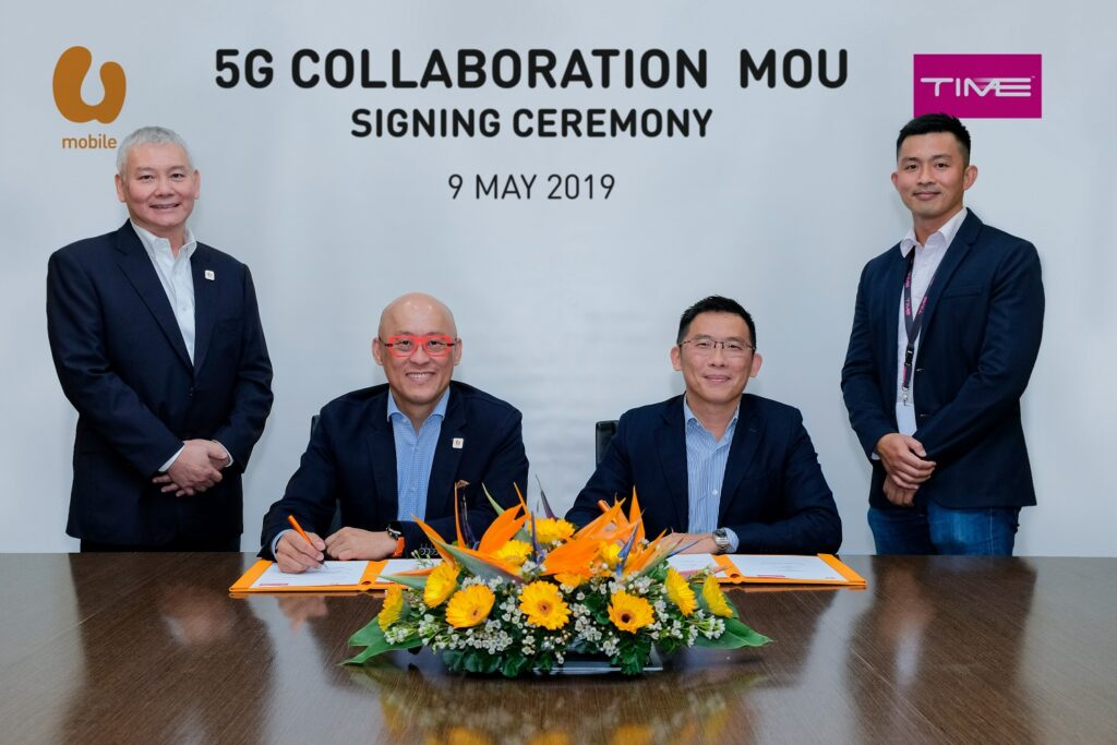 The collaboration will see U Mobile leveraging TIME's high speed and low latency backhaul solution for its 5G live trials.