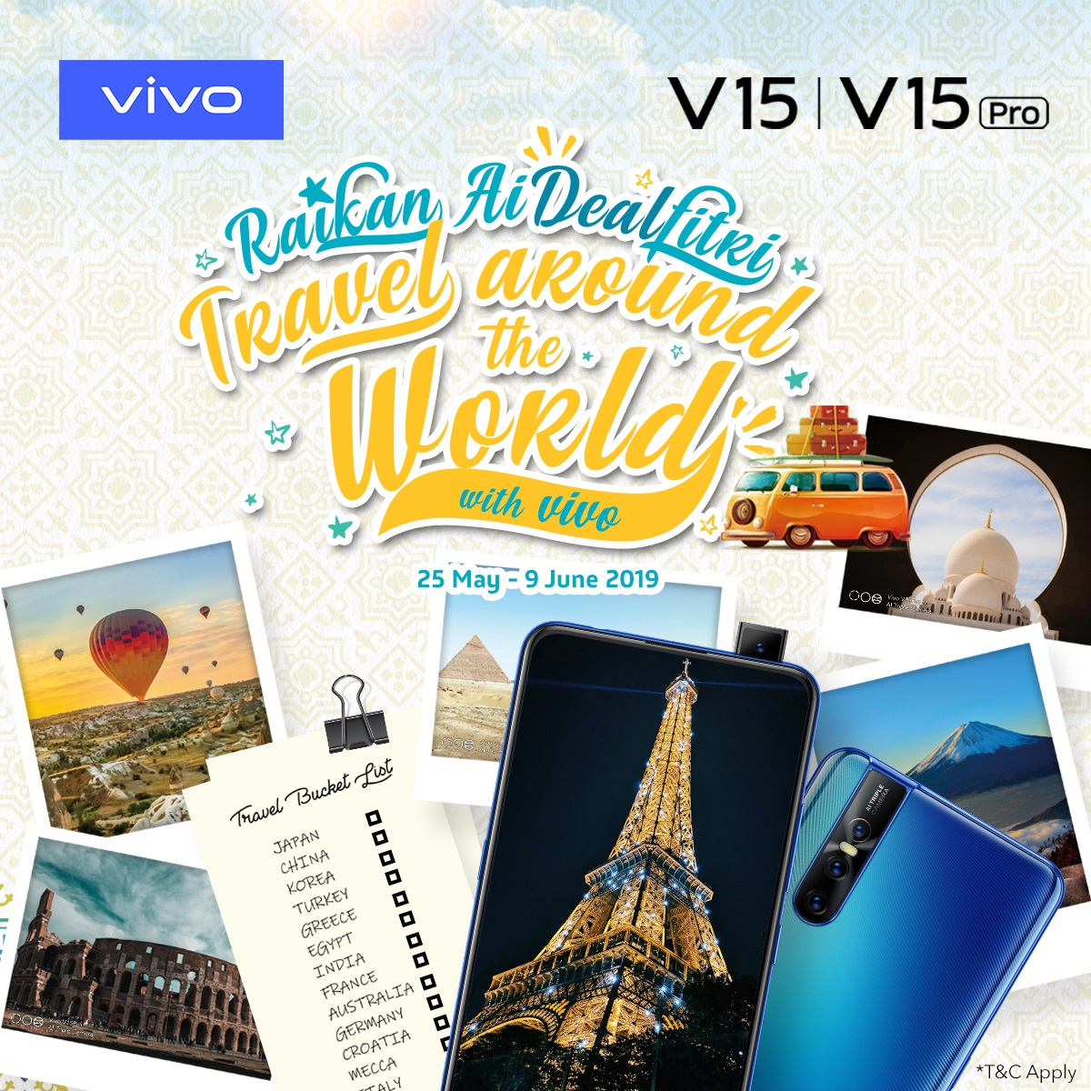 Purchase Any Vivo Smartphone and Stand a Chance to Win a Trip