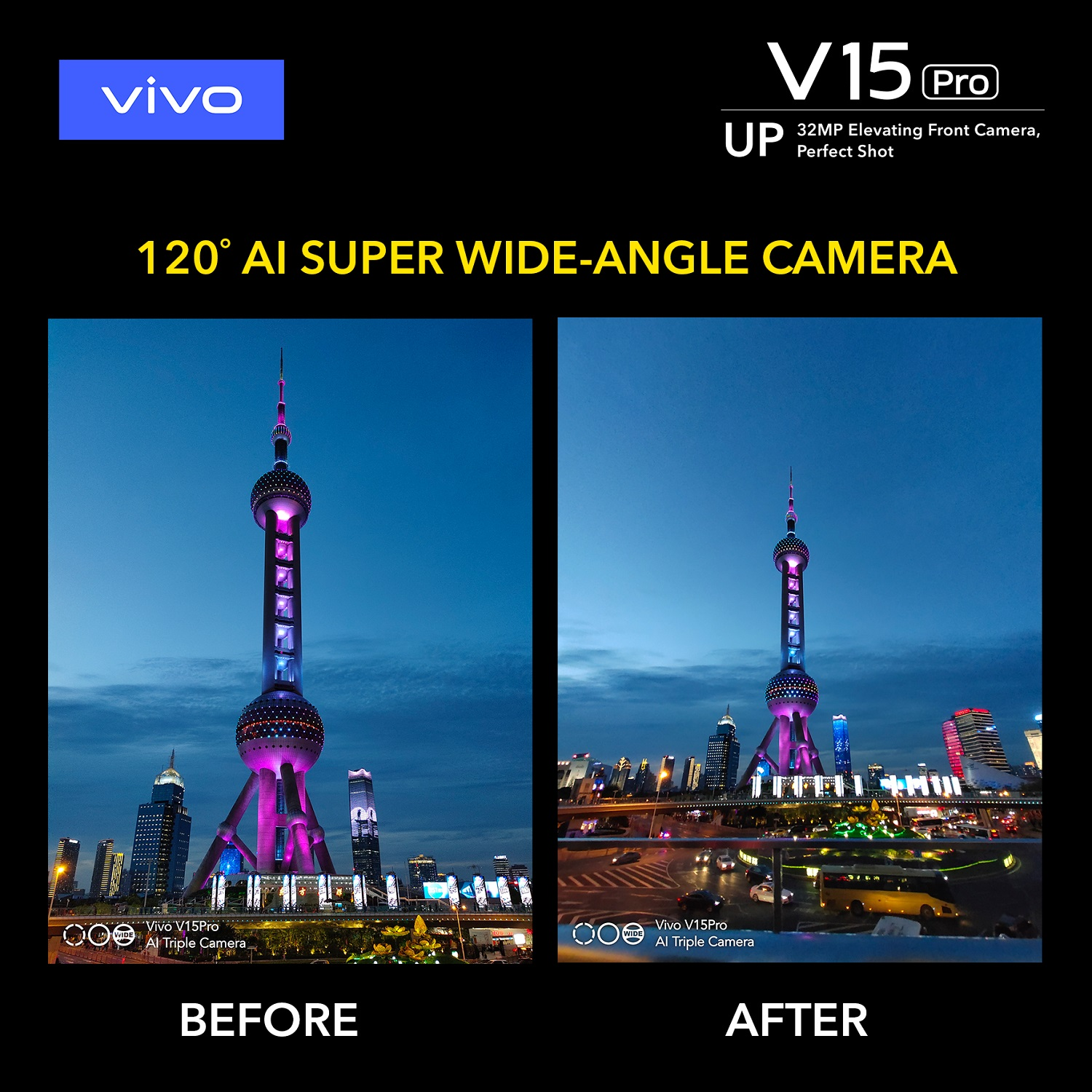 Vivo V15 Pro Wide Angle Camera