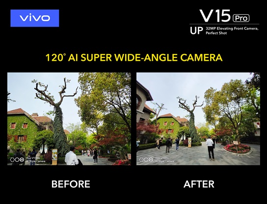 Vivo V15 Pro Super Wide Angle Camera Elevates Your Photography Skills
