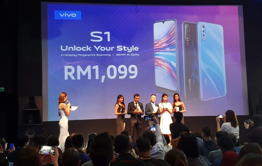 Vivo S1 Officially Launched in Malaysia
