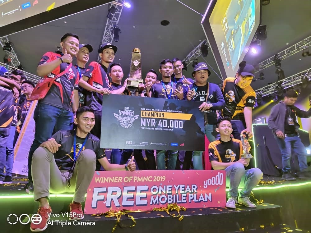 VIP Squad Wins The PUBG Mobile Malaysia National Championships