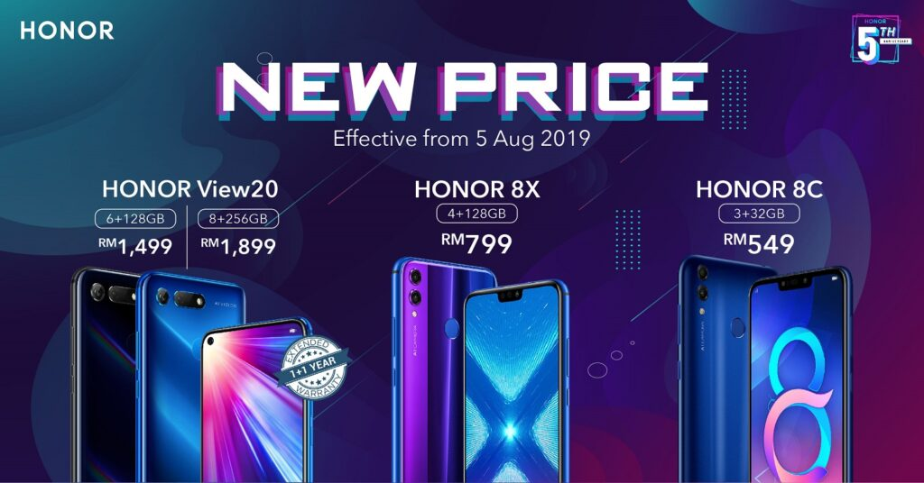 HONOR's new price
