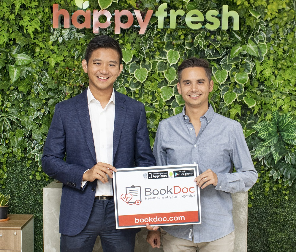 BookDoc Partners With The Leading Online Grocery Company in South-East Asia, Happy Fresh