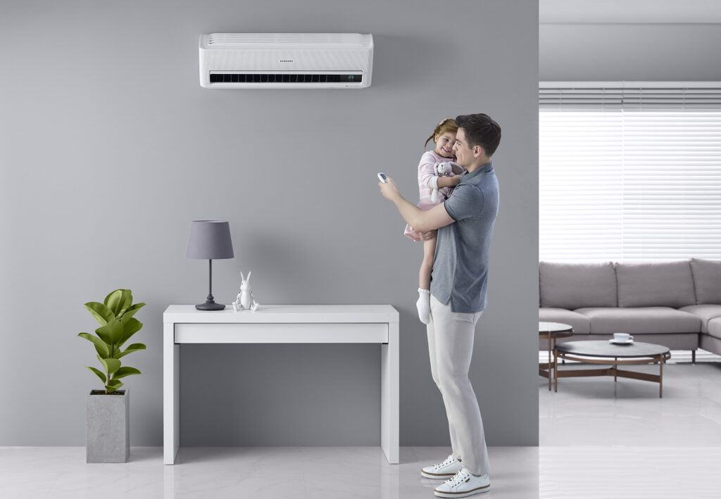 Samsung Wind-Free Cooling Technology