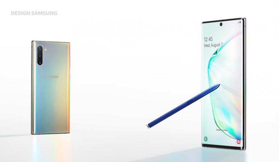 Galaxy Note10 Design