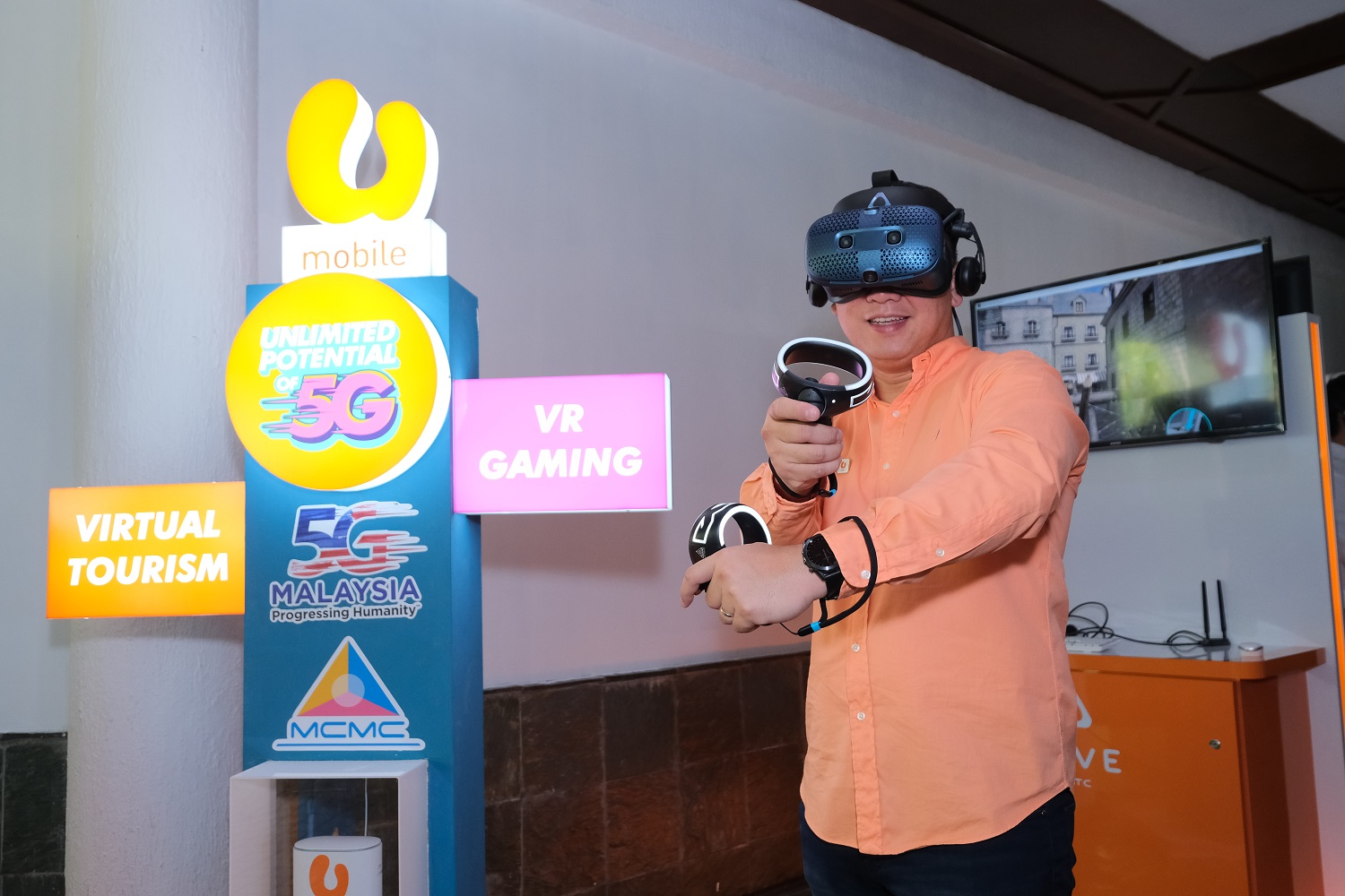 U Mobile Demonstrates 'Live' 5G Use Cases For Remote Consulation, Virtual Reality Tourism, And Virtual Reality Gaming