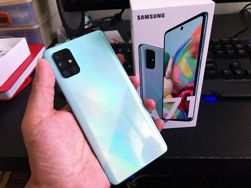 Samsung Galaxy A71 Preview