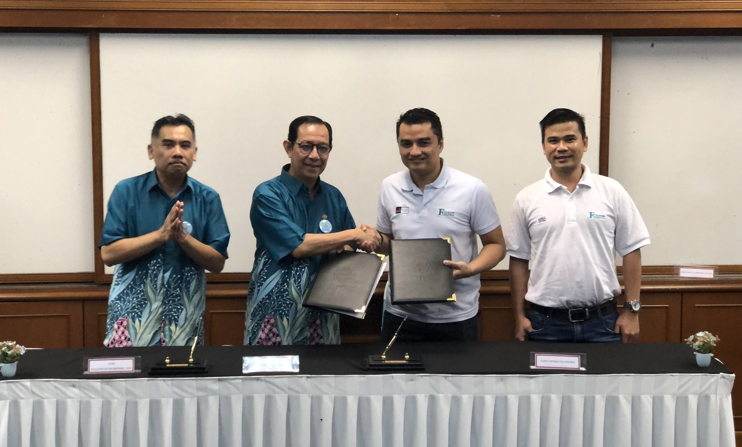 Forest Interactive and IIUM Make A Difference With AIRA