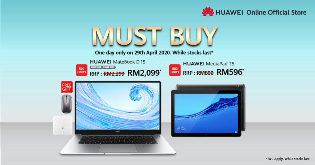 HUAWEI Online Official Store Celebrates 6th Birthday with Amazing Deals