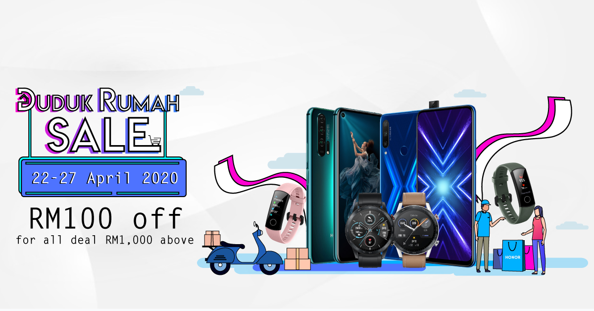 HONOR Brings More Awesome Deals with its Duduk Rumah Sale