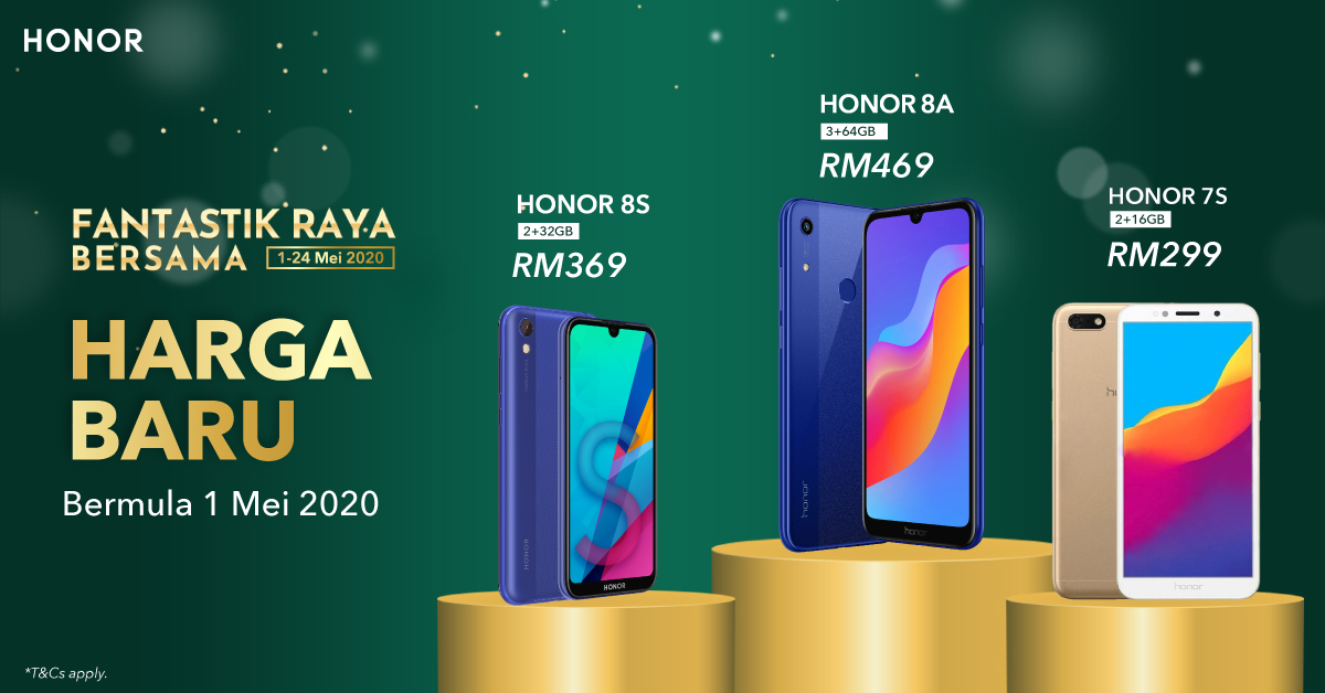 HONOR Kicks Off Fantastik Raya Bersama Campaign with New Prices