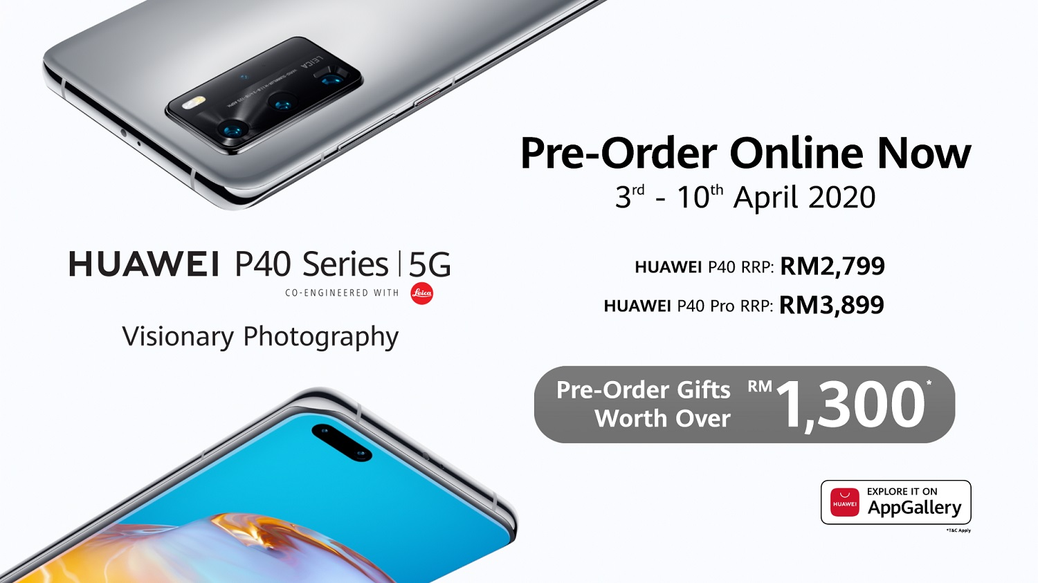 HUAWEI Media Launch and Everything You Need to Know for Your Online Pre-Order