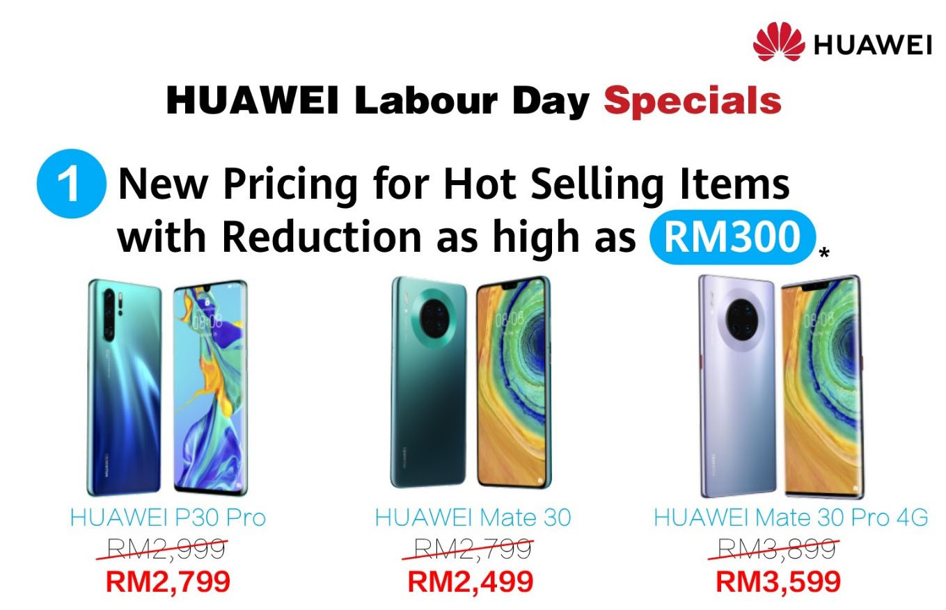 Huawei Labour Day Specials Offer Amazing Rewards