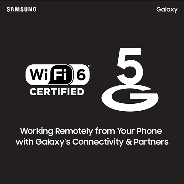 Stay Apart but Stay Together with Galaxy