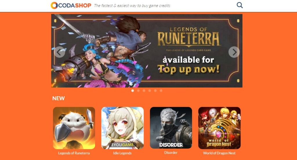 Legends of Runeterra Coins Now Available for Purchase on Codashop