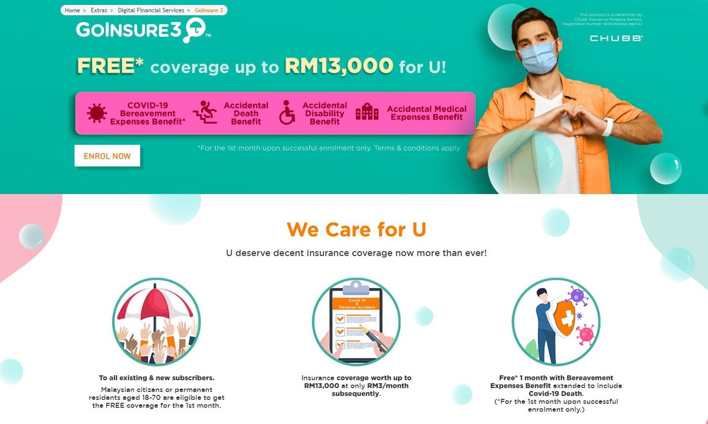 U Mobile's Giler BagiLebih Campaign Offers Free Personal Accident Insurance